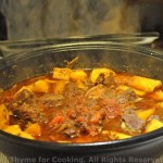 Beef and Sweet Potato Tagine; The truth about Chocolate