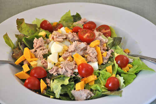 how to make tuna salad from scratch