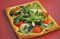 Asparagus and Green Garlic Tart