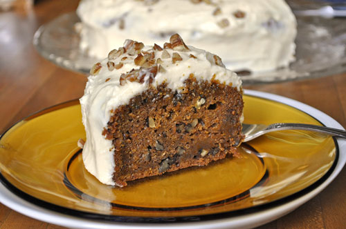 Brown Butter Pecan Carrot Cake Recipe — Dishmaps