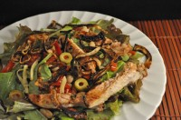 Chicken and White Bean Salad