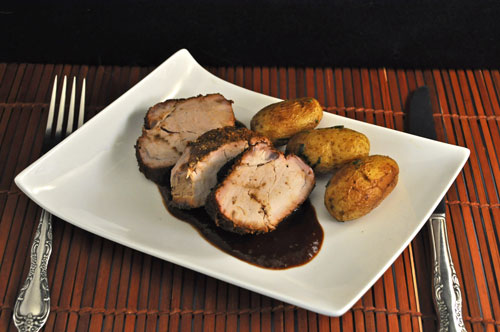 Brined, Barbecued Pork Tenderloin