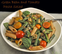 Green Bean and Tomato Pasta Salad