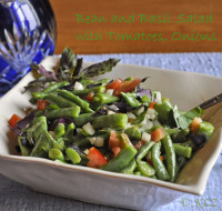 Bean and Basil Salad