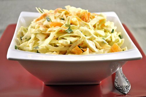 Easy Cabbage Salad with Yogurt Dressing, more summer salads
