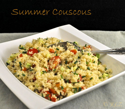 Summer Couscous Eating Real Food