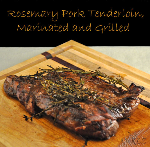 Pork roast marinade recipe rosemary