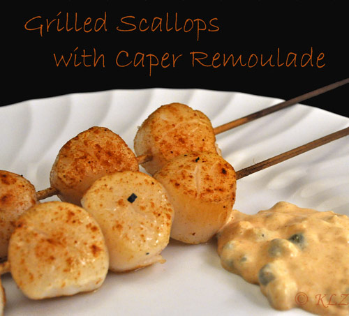 easy scallop recipe grilled mild flavored grilled scallop pan grilled ...