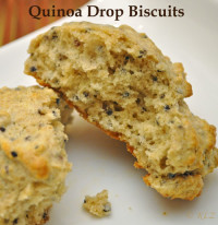 Quinoa Drop Biscuits