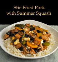 Stir-Fried Pork with Summer Squash