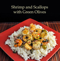 Shrimp and Scallops with Green Olives