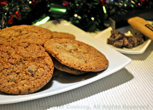 Ginger Chocolate Chunk Cookes