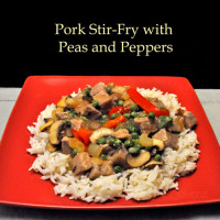 Pork Stir-Fry with Peas and Peppers