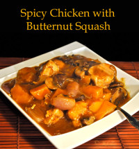 Spicy Chicken with Butternut Squash