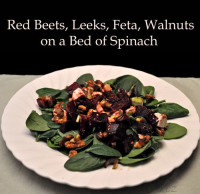 Beet, Walnut and Feta Salad