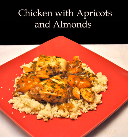 almond rice pilaf rice and almond short dough moroccan chicken apricot ...