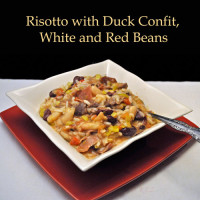 Duck and Bean Risotto
