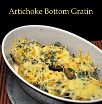 Artichoke Bottom Gratin