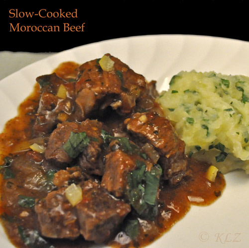 Slow-Cooked Moroccan Beef