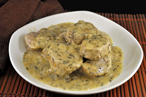 Pork Tenderloin with Mustard and White Wine Sauce, the dreaded phone ...
