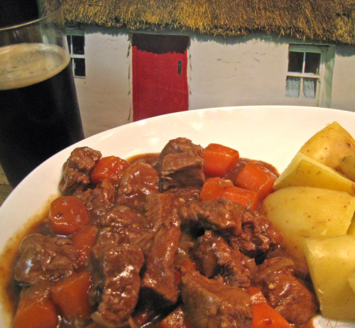 Beef Braised In Guiness