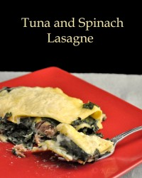 Tuna and Spinach Lasagne