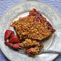 Strawberry Rhubarb Crisp