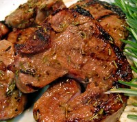 Teriyaki Lamb Chops