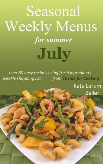 July Menus