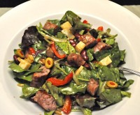 Sausage, Red Pepper & Red Bean Salad