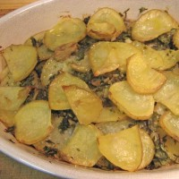 Potato Gratin with Herbs and Garlic