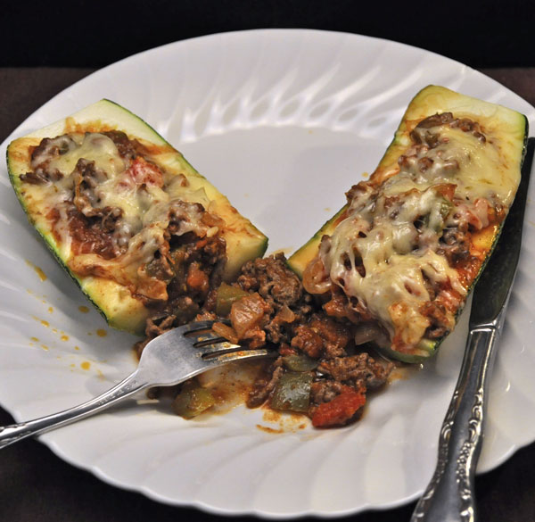 Stuffed Zucchini, Taco Style - Thyme for Cooking, Blog