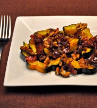 Warm Acorn Squash and Walnut Salad