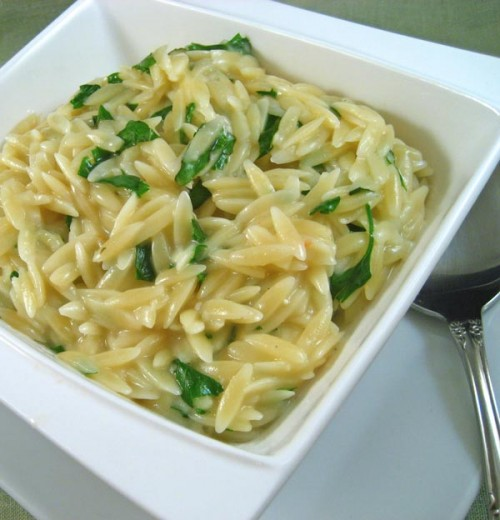 Parmesan Orzo with Fresh Herbs