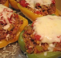 Stuffed Peppers Americas Style