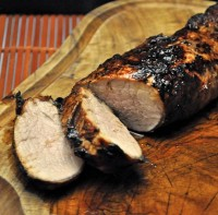 Molasses Grilled Pork Tenderloin