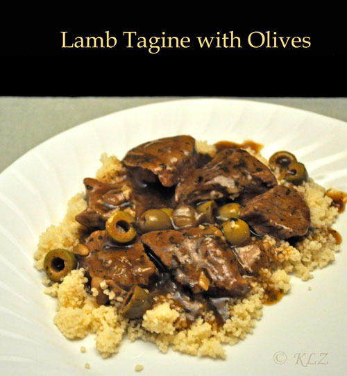 Lamb Tagine with Olives