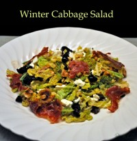 Winter Cabbage Salad