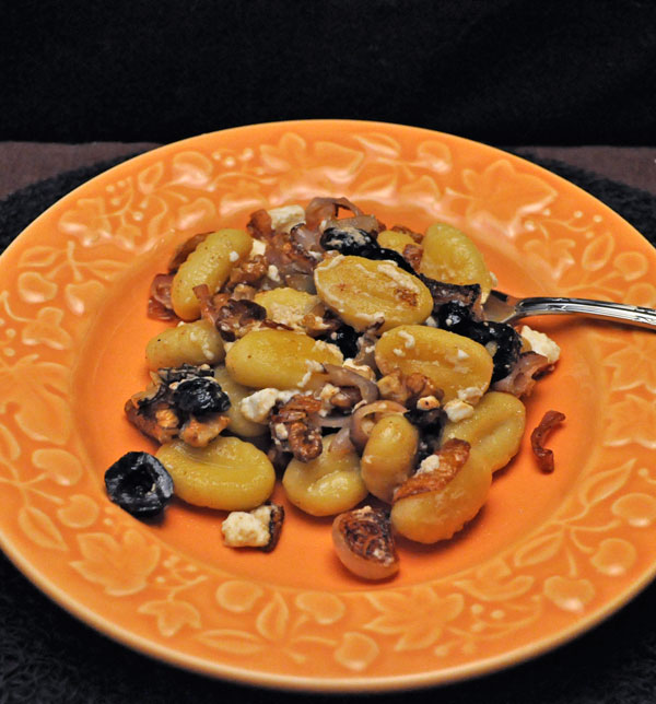 Fried Gnocchi with Mushrooms