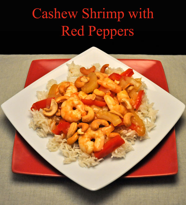 Cashew Shrimp with Red Peppers