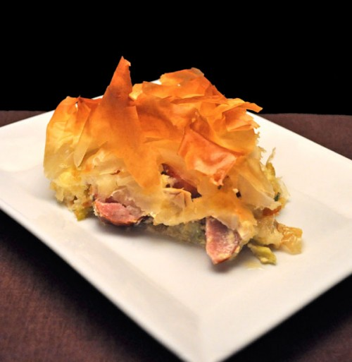 Phyllo Pie, Slice