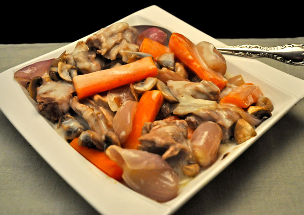 Veal in White Wine Sauce