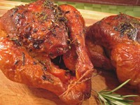 Cornish Hens with Lemon and Herbs