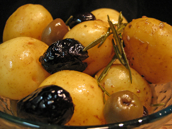 Braised Potatoes with Rosemary