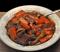 Venison, Beer Stew