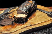 Grilled Miso Pork Tenderloin