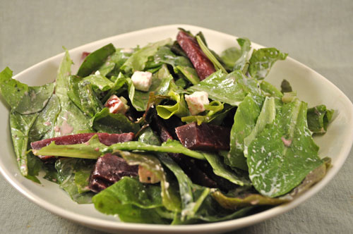 Salad with Pickled Beets