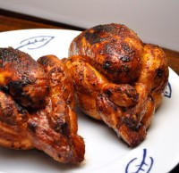 Grilled Hens with Fresh Herbs
