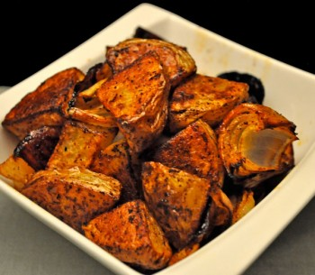 Spicy Grilled Potatoes