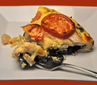 Turkey & Chard Quiche